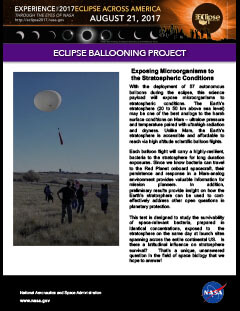 Eclipse ballooning project preview