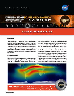 Eclipse Solar Eclipse Modeling PDF preview