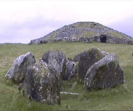 Loughcrew Cairn L Megalithic Monument in Ireland