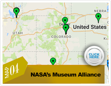 NASA's Museum Alliance map page link preview image