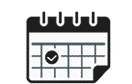 Events calendar iconicon linked to events page