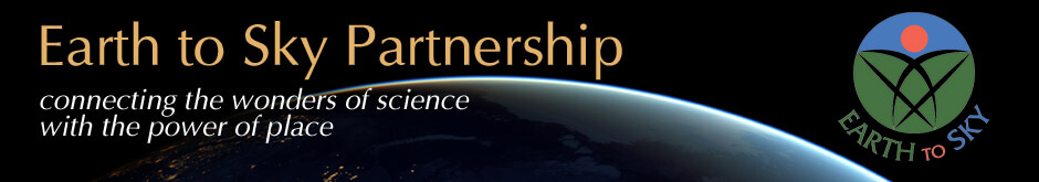 Earth to Sky Partnership banner with logo
