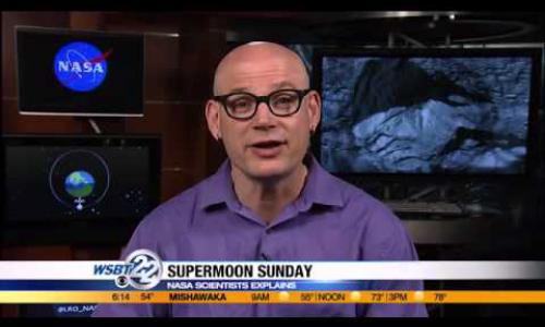 NASA scientist explains supermoon eclipse